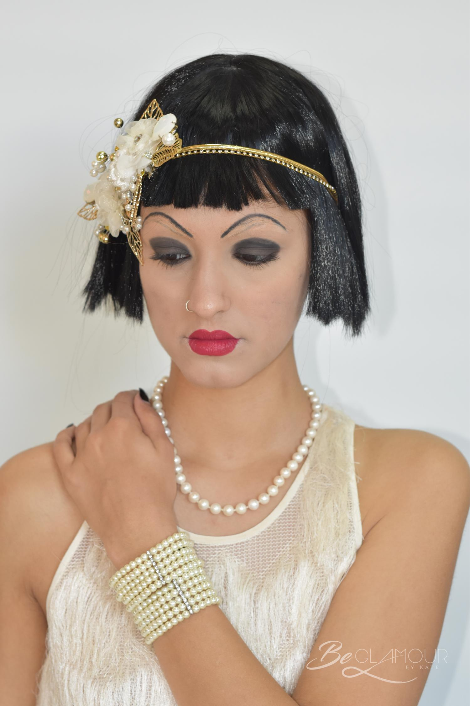 The make up looks of the 1920's